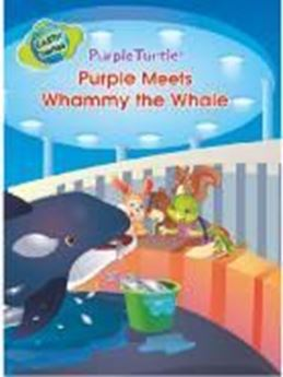 Picture of Purple Meets Whammy the Whale