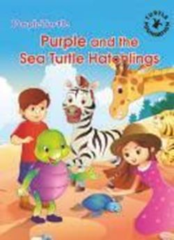 Picture of Purple and the Sea Turtle Hatchlings