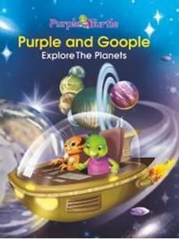 Picture of Purple and Goople Explore the Planets