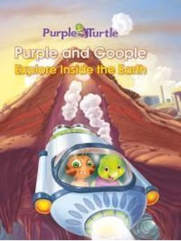Picture of Purple and Goople Explore inside the Earth