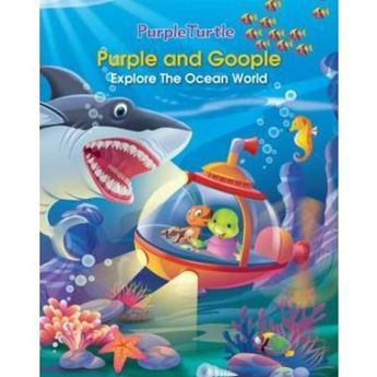 Picture of Purple and Goople Explore the Ocean World