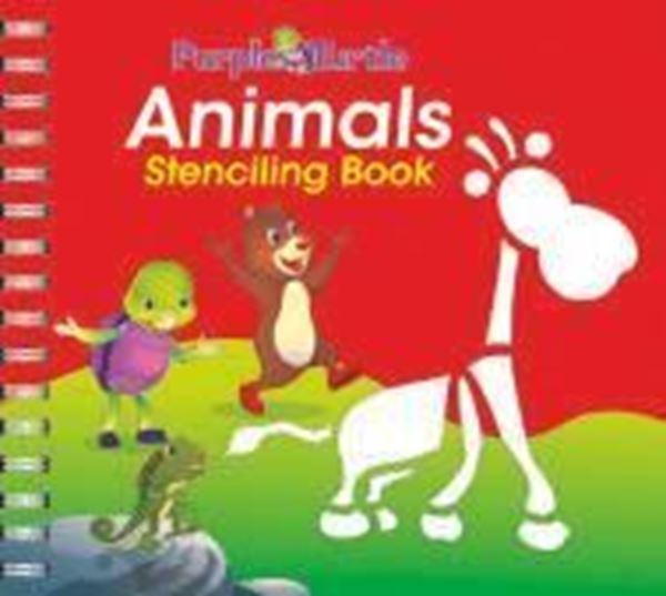 Picture of Animals Stencil Book