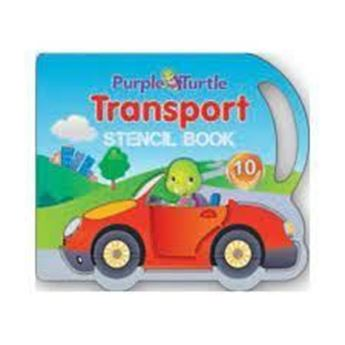 Picture of Transport Stencil Book